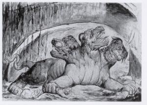 Cerbero - William Blake.
